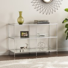 Southern Enterprises Knox Glam Mirrored Console