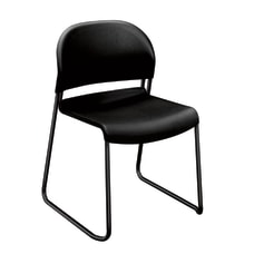 HON GuestStacker 4030 Series Chairs Onyx