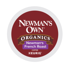 Newmans Own Organic French Roast Coffee