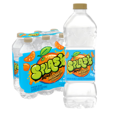 Nestl Splash Water Beverages Mandarin Orange