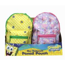 Inkology Nickelodeons SpongeBob Squarepants Mini Backpack
