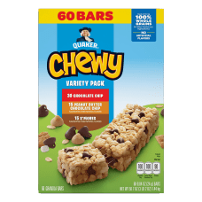 QUAKER Chewy Granola Bar Chocolate Chip