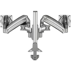 Lorell Desk Mount for Monitor Gray