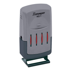 Xstamper VersaDater Line Dater Red