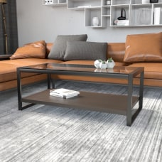 Flash Furniture Coffee Table With Raised