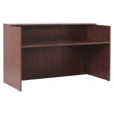 Lorell Essentials Series Reception Desk 72