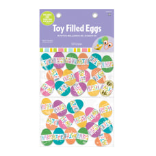 Amscan Pre Filled Easter Eggs With