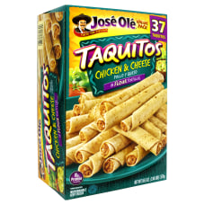 Jose Ole Chicken And Cheese Taquitos