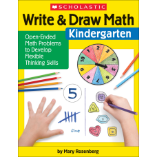 Scholastic Write Draw Math Kindergarten