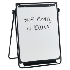 Flipchart Easel With Non Magnetic Dry