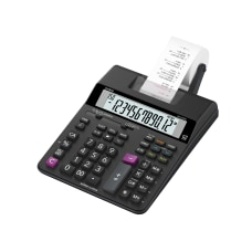 Casio HR 200RC Compact Printing Calculator