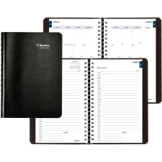Brownline Academic Daily Appointment Book Monthly