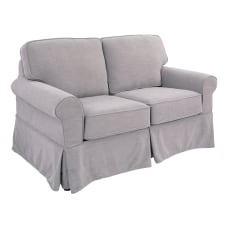 Ave Six Ashton Slip Cover Loveseat