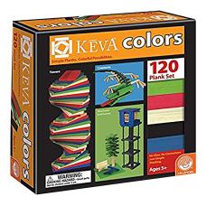 KEVA 120 Piece Color Plank Set