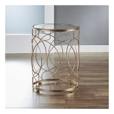 FirsTime Co Loop Side Table Round