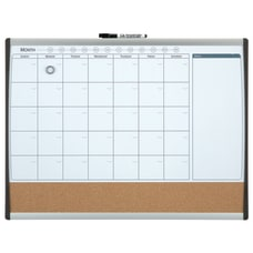 Quartet Calendar Board Steel 17 x