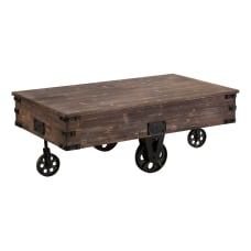 FirsTime Co Factory Cart Coffee Table