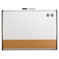 Quartet Magentic Dry EraseBulletinCalendar Board CorkSteel