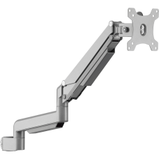 Lorell Adjustable Single Monitor Arm Gray