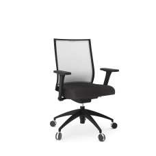 National Helio Ergonomic Task Chair BlackBlack