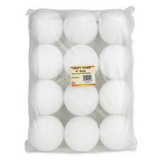 Hygloss Styrofoam Balls 4 White Pack