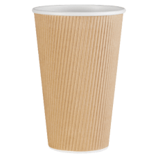 Genuine Joe Ripple Hot Cups 16