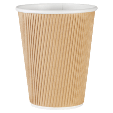 Genuine Joe Ripple Hot Cups 12