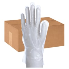Packaging Dynamics Poly Gloves Medium 100