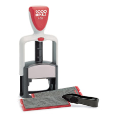2000PLUS Self Inking Stamp Print Kit
