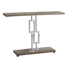 Monarch Specialties Metal Hall Console Table