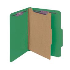 Smead Pressboard Classification Folder 1 Divider