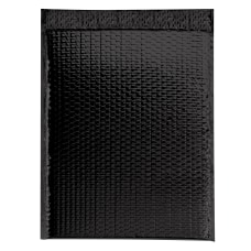 Partners Brand Black Glamour Bubble Mailers
