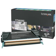 Lexmark C734A1KG Black Return Toner Cartridge