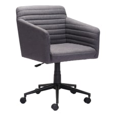 Zuo Modern Bronx Mid Back Chair