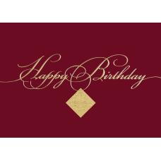 Custom All Occasion Filigree Birthday Greeting