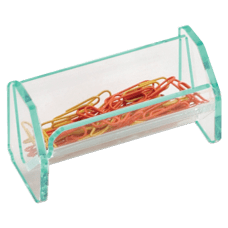 Lorell Acrylic Paper Clip Holder 4