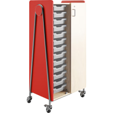 Safco Whiffle Double Column Rolling Storage