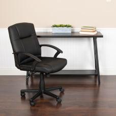 Flash Furniture Flash Fundamentals LeatherSoft Mid