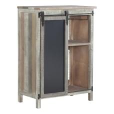 Powell Home Fashions Scrofano Wine Cabinet