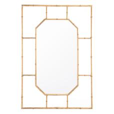 Zuo Modern Bamboo Rectangular Mirror 34