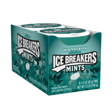 Ice Breakers Sugar Free Wintergreen Mints