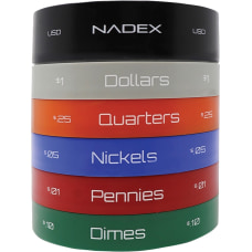 Nadex Coins Coin Sorting Jar Counts
