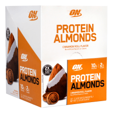 Optimum Nutrition Protein Almonds Cinnamon Roll