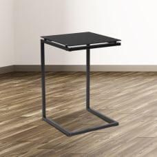 Flash Furniture Glass End Table 23