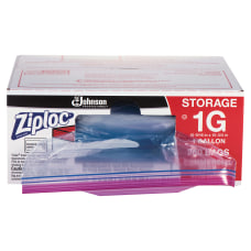 Ziploc Storage Bags 1 Gallon Box
