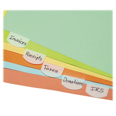 Lee Removable Hefty Index Tabs 1