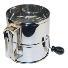 Winco Stainless Steel Rotary Sifter 8