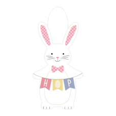 Amscan Easter Bunny Hanging Sign 24
