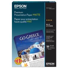 Epson Premium Presentation Paper 13 x