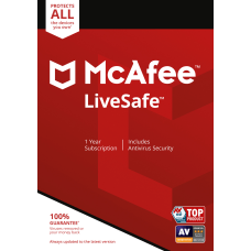 McAfee LiveSafe Antivirus Software For PC